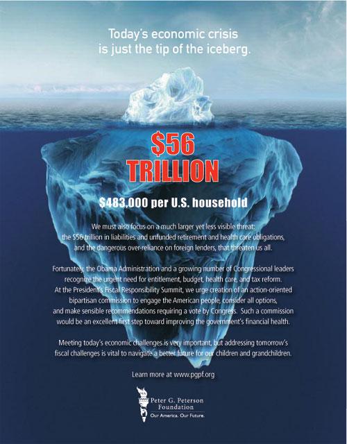 Peterson Fdn Iceberg ad