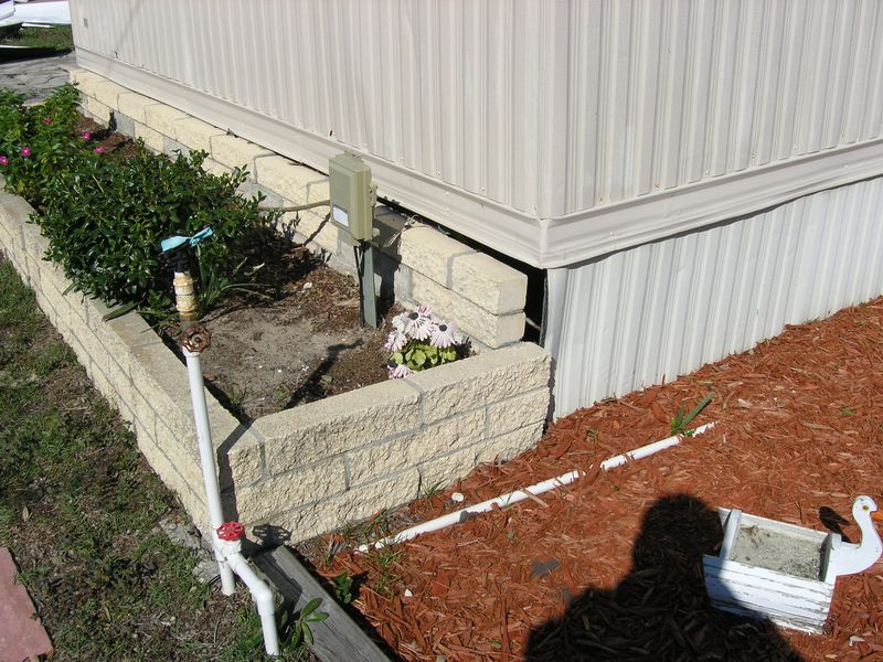 Shifted foundation