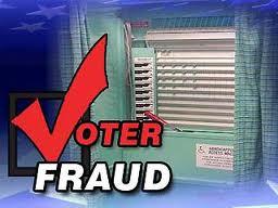 Voter fraud image