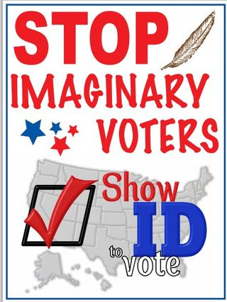 VoterFraud stop imaginaryvoters