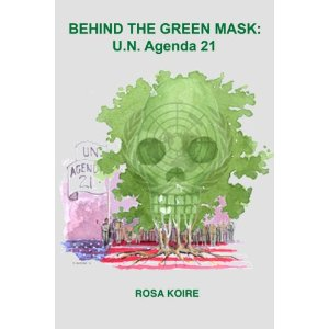 Koire Book Behind Green Mask