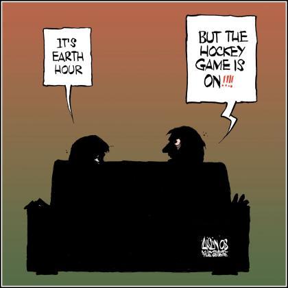 EarthHourHockey