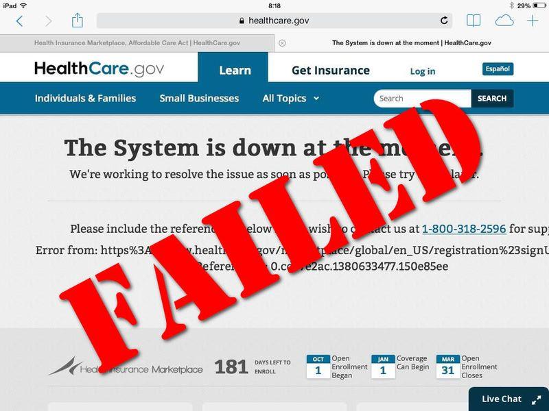 Obamacare-Failed