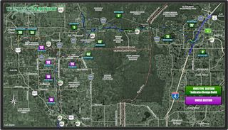 Wekiva Parkway cropped map