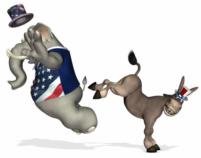 Democrats-kick-republicans-keep-working