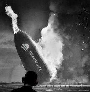 ObamaCareInFlames
