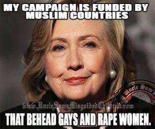 HillaryCampaignFundingMuslims