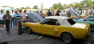 First Friday Mustang web