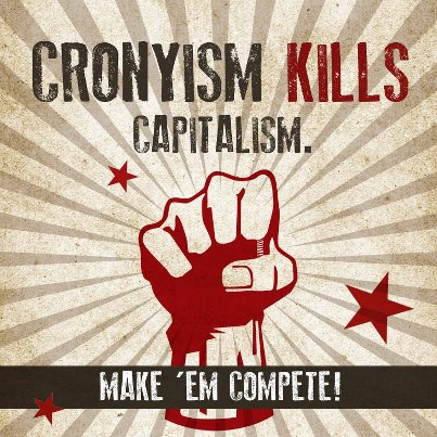 Cronyism-kills