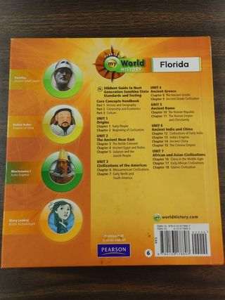 Florida on line homework textbook answers