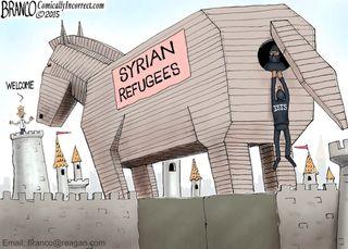 #Refugees-Syrian-trojan