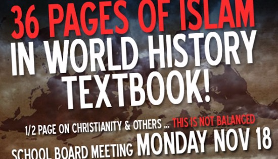 Islamic bias in textbooks: Well known conservative Law