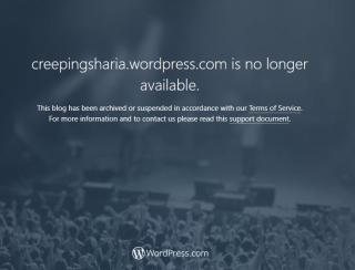 Creeping Sharia shut down