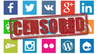 CensorshipSocialMediaLogos