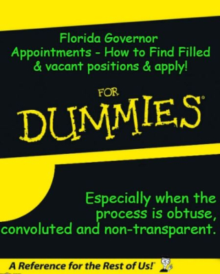 FL Governor Appointments Dummies