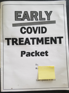 Cover - Early Covid Treatment Packet